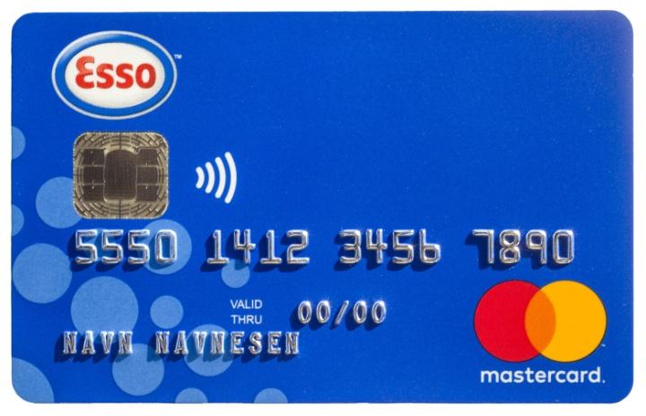 Esso Mastercard for medlemmer i NSF