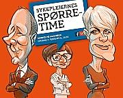 Sykepleiernes spørretime ledes av Sigrid B. Tusvik og Eirik Bergesen.