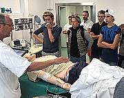 150 gutter på 15 år besøkte sykepleierutdanningen ved NTNU Gjøvik.