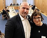 Kjetil Rekdal og Solveig Kopperstad Bratseth