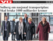 1000 milliarder til transport
