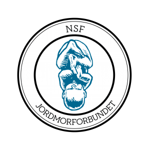 NSFs faggruppe for jordmorforbundet - logo
